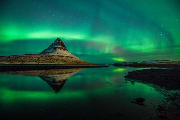 Surrounding aurora