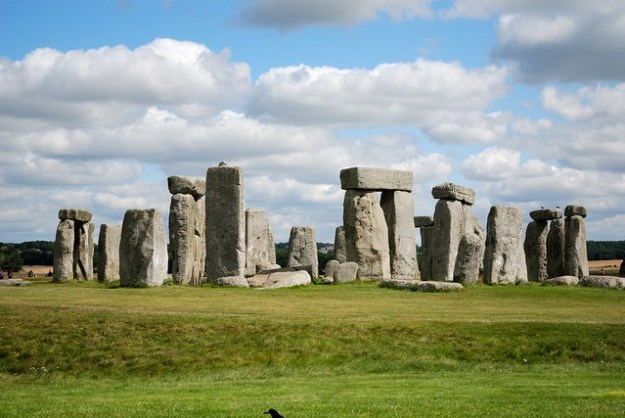 The Stone Circle at Stonehenge; just one of the c. 700 sites which together form part of the landscape inscribed as a World Heritage Site
