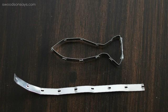 TInfoil strip cookie cutter