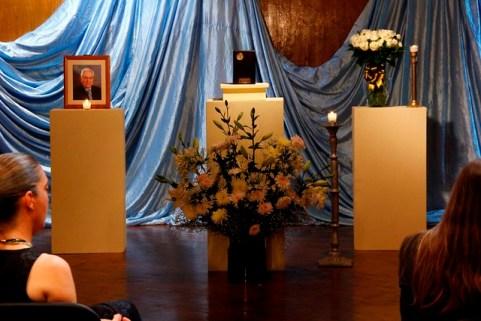 Homenaje póstumo al arquitecto Marco Antonio Garfias de los Santos en el Centro de Difusión Cultural Raúl Gamboa.