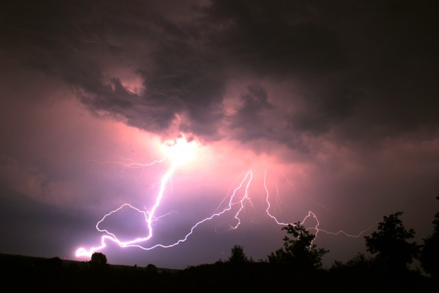 Thunderstorm, Rosendahl, Germany, 03-07-2015