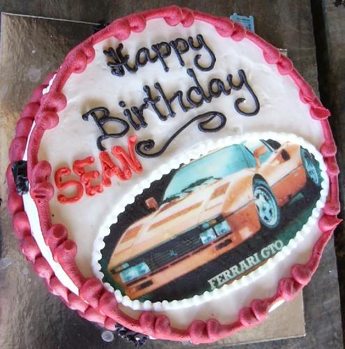 Sean S Birthday Cake Bernhard Schwarz Flickr