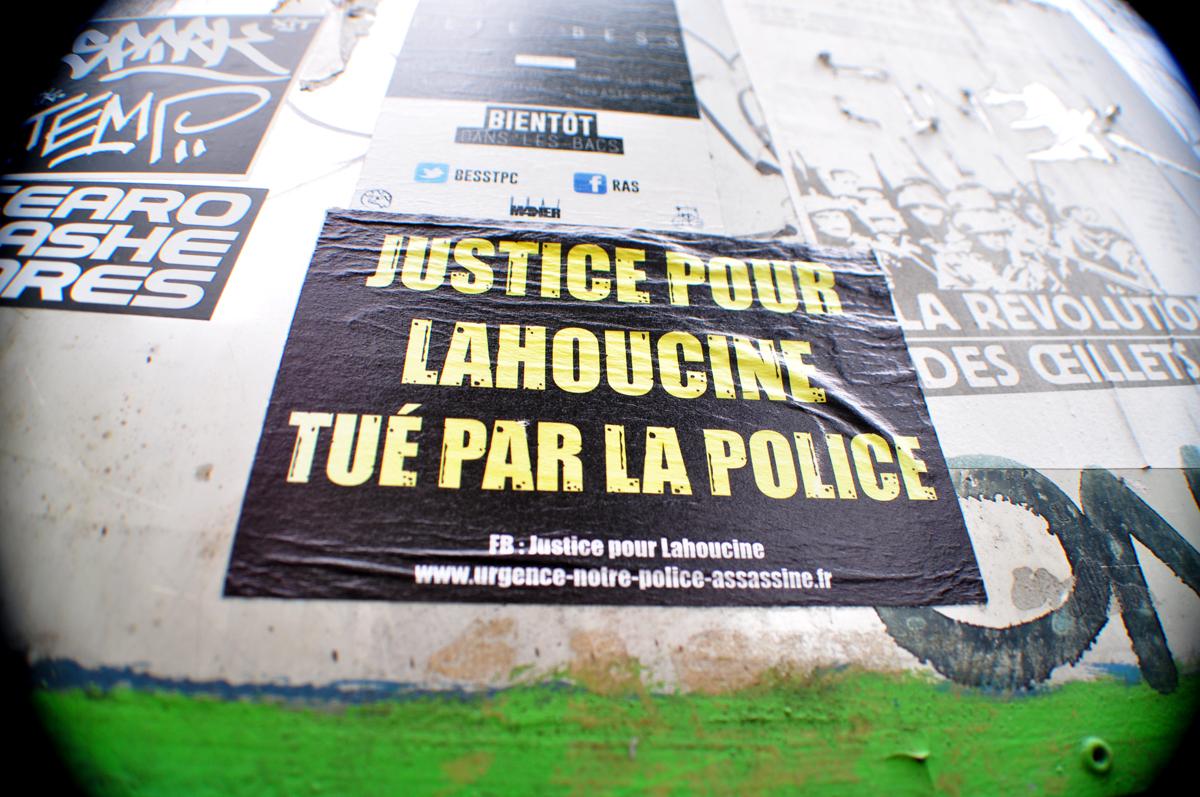 JUSTICE POUR LAHOUCINE TUÉ PAR LA POLICE