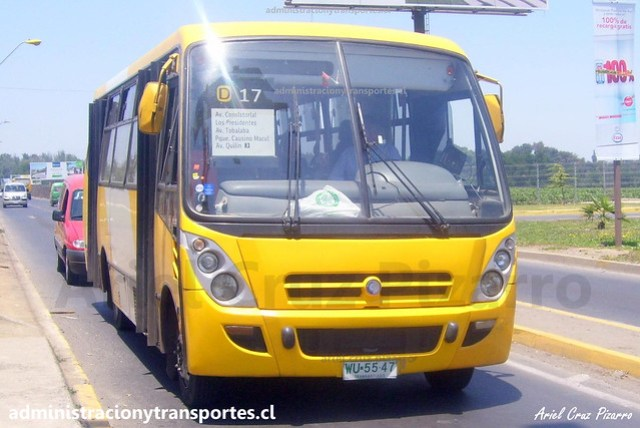 Transantiago D17 | STP Santiago | Caio Foz - Mercedes Benz / WU5547