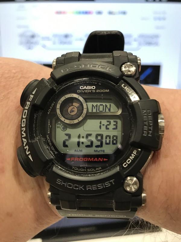 Casio GWF D1000 Frogman