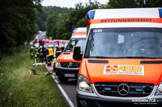 Schwerer Verkehrsunfall B417 20.06.15