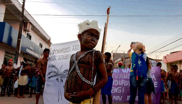 Faça o download: material de combate ao preconceito indígena é publicado, Caravana em Defesa do Tapajós