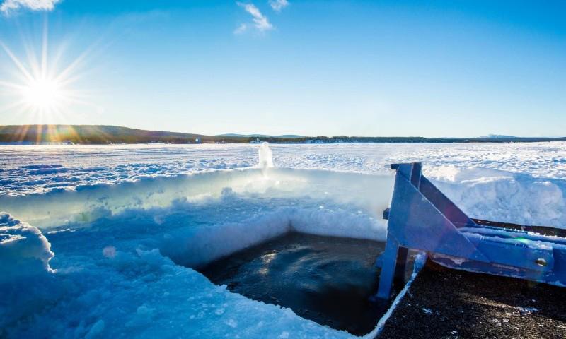 Sauna-Icehotel