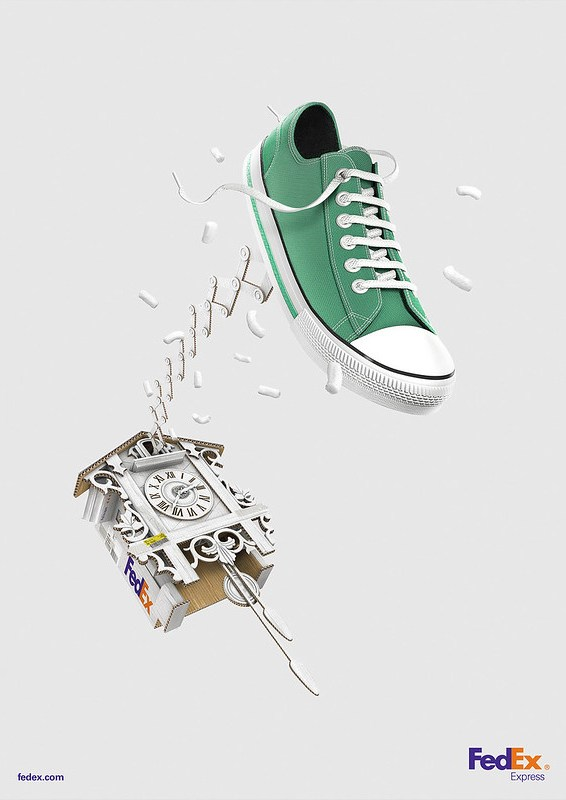 FedEx Express - Cuckoo Sneaker
