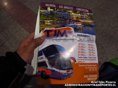 Afiche Buses TJM