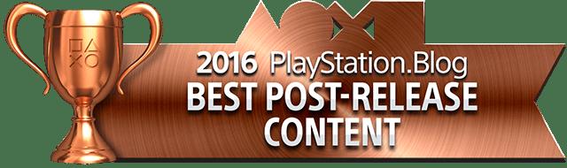 Best Post-Release Content - Bronze
