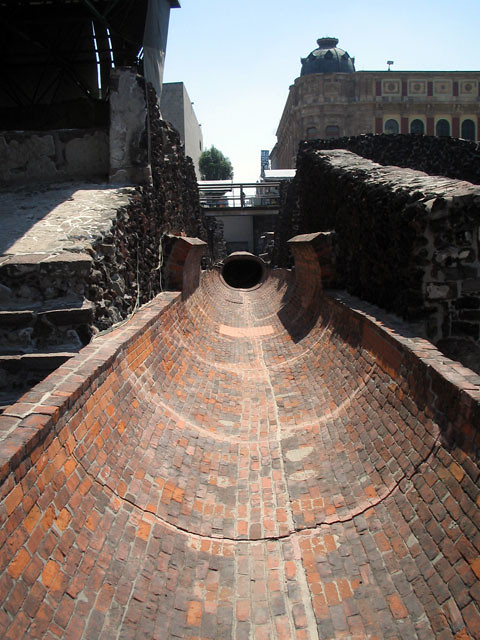 Tenochtitlan 3 Aqueduct At Tenochtitlan In Mexico