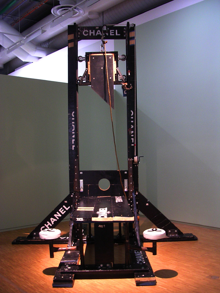A Guillotine Custom Fitted For A Celebutante S Anorexic H