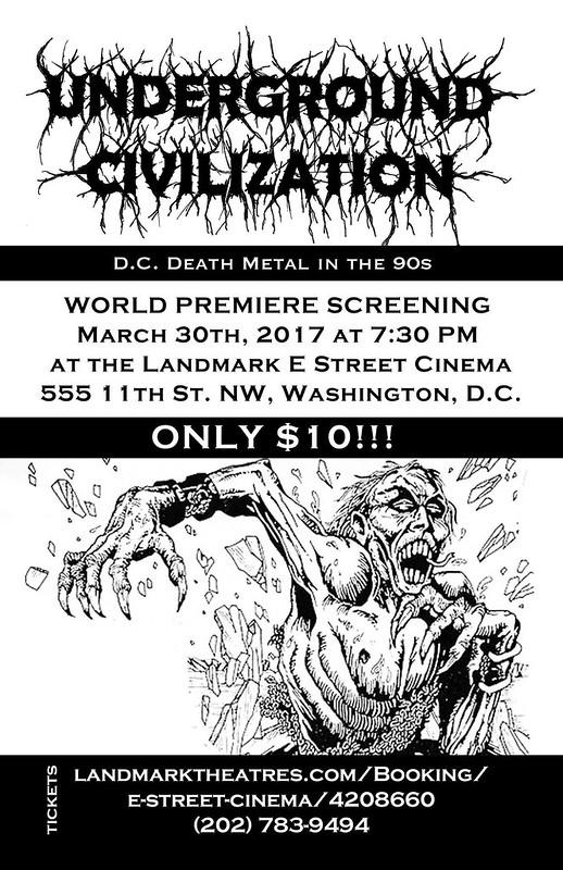 Underground Civilization: DC Death Metal in the 90's