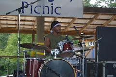 012 Garry Burnside on Drums