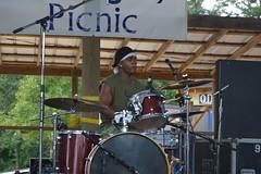 012 Garry Burnside on Drums
