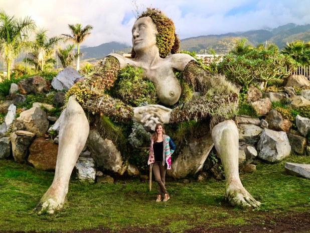 Escultura La Gigante, Tenerife