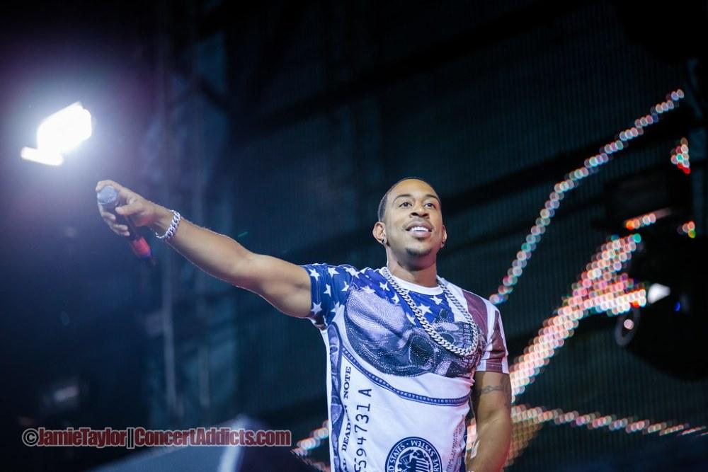 Ludacris Performing at Pemberton Music Festival in Pemberton, BC on July 2015