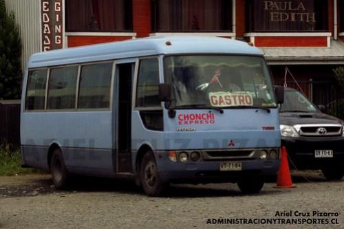 Chonchi Expreso - Castro - Mitsubishi Fuso Rosa (VT7164)