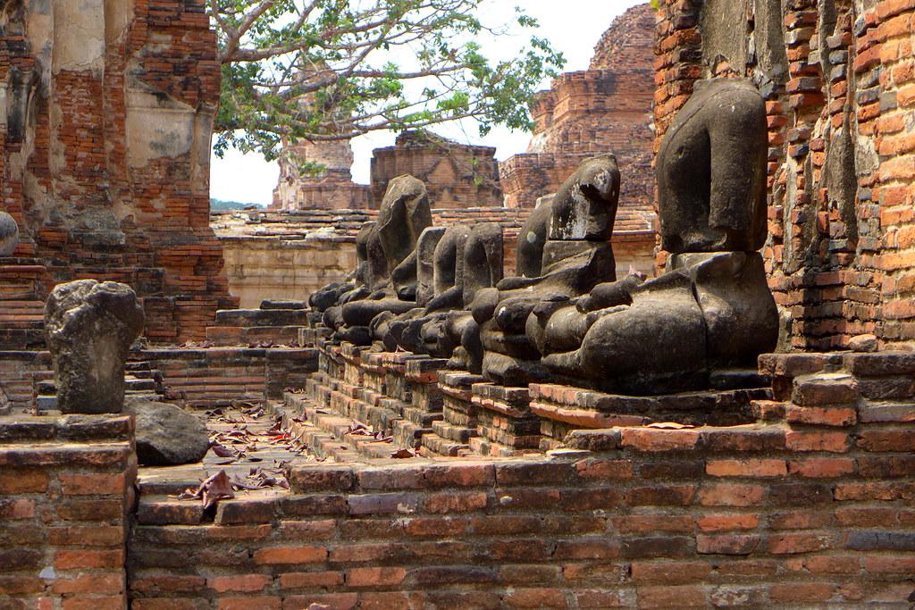 Thaïlande - Ayutthaya - 018 - Wat Maha That