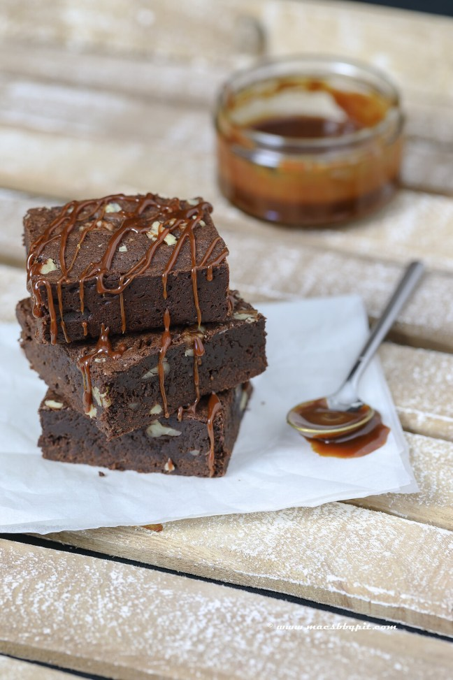 Barbecue brownies
