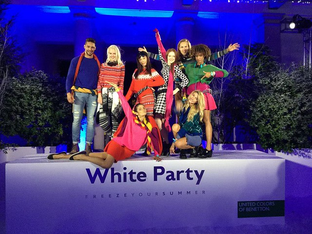 BENETTON WHITE PARTY
