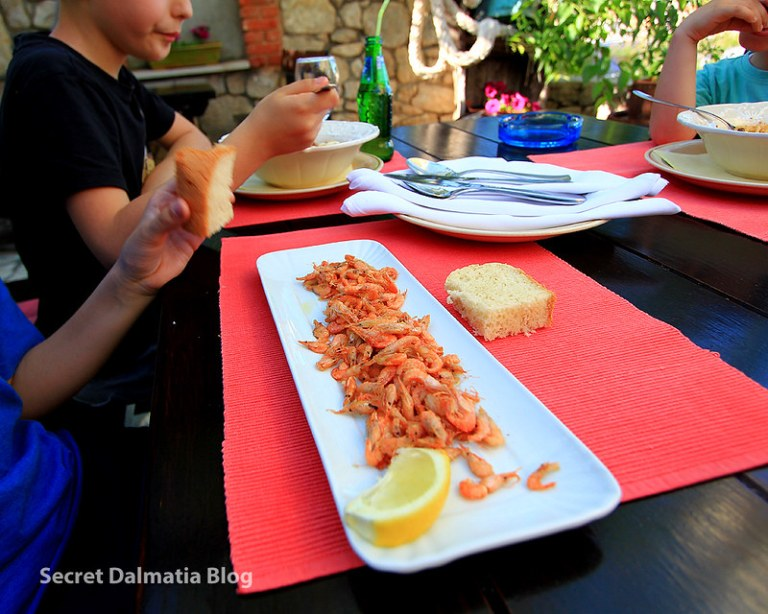 Honey fried shrimp