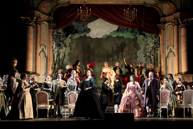 Production Photo of Adriana Lecouvreur, The Royal Opera © ROH 2017. Photo by Catherine Ashmore