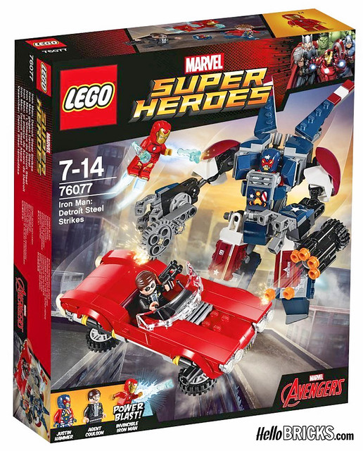 Lego 76077 - Marvel - Iron Man : Detroit Steel Attack
