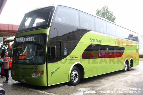 Tur Bus - Valparaíso - Modasa Zeus / Mercedes Benz (DPFF37)