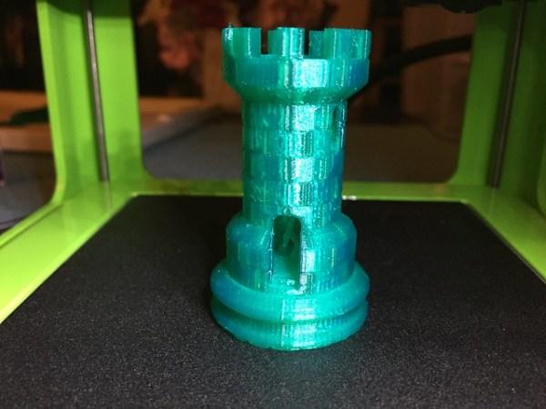 M3D printed rook