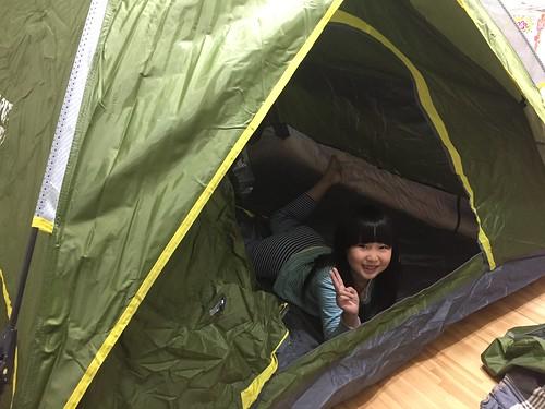 買車+帳篷