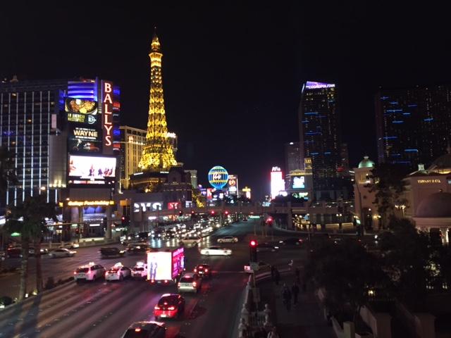 roadtrip: Las Vegas Strip by night