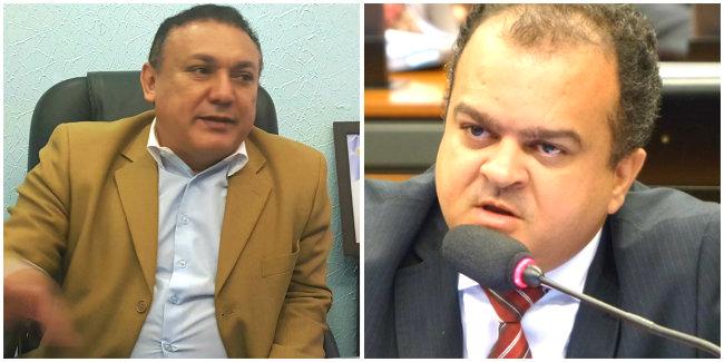 Osmando e Beto Salame - PP em Santarém