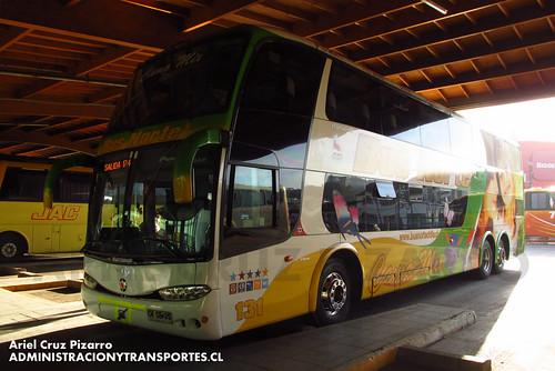 Bus Norte - Puerto Montt - Marcopolo Paradiso 1800 DD / Volvo (CYSB35)