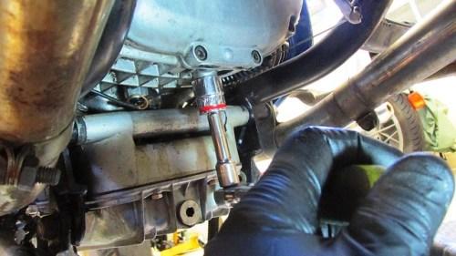 Remove Transmission Drain Plug