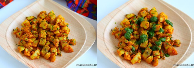 sweet potato chaat 3