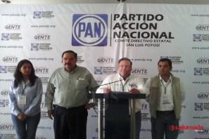 PAN denuncia incidentes en algunas zonas del estado