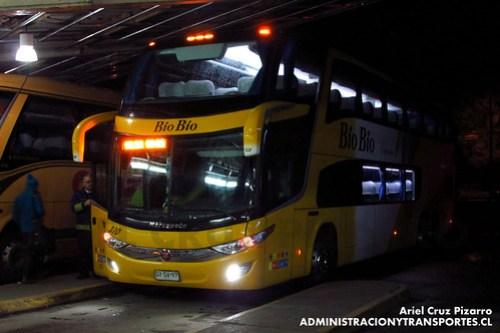 Buses Bio Bio - Valdivia - Marcopolo Paradiso 1800 DD / Mercedes Benz (GYGV97)