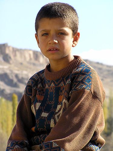 Turkish Boy Random Boy In Turkey On The Road To Konya
