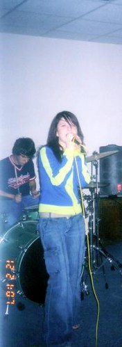 Paramore At My House 2002 Hayley Williams From Paramore