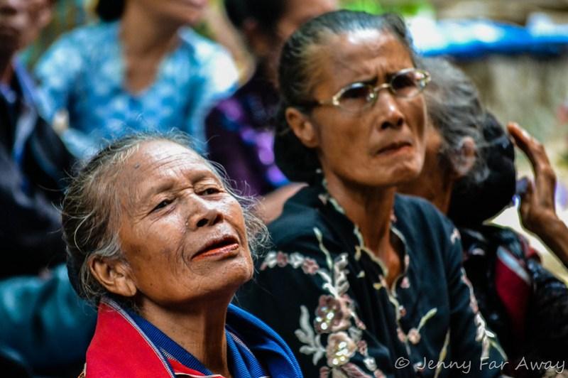 Attending a Batak Funeral in Sumatra.