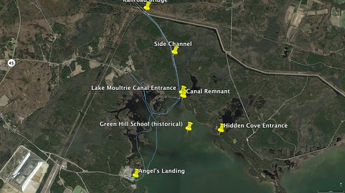 Old Santee Canal Paddle Route