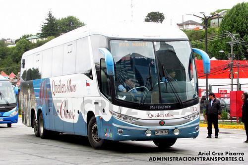 Queilen Bus - Puerto Montt - Marcopolo Paradiso 1200 G7 / Mercedes Benz (DPXF62)