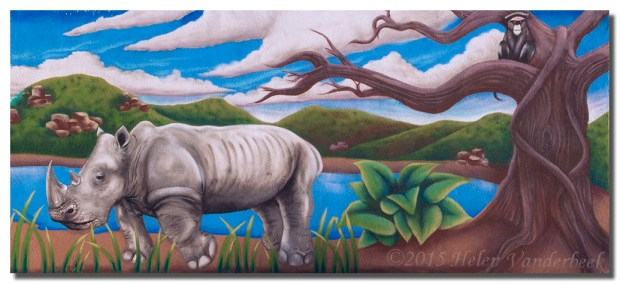 Mural at Rio Grande Zoo I