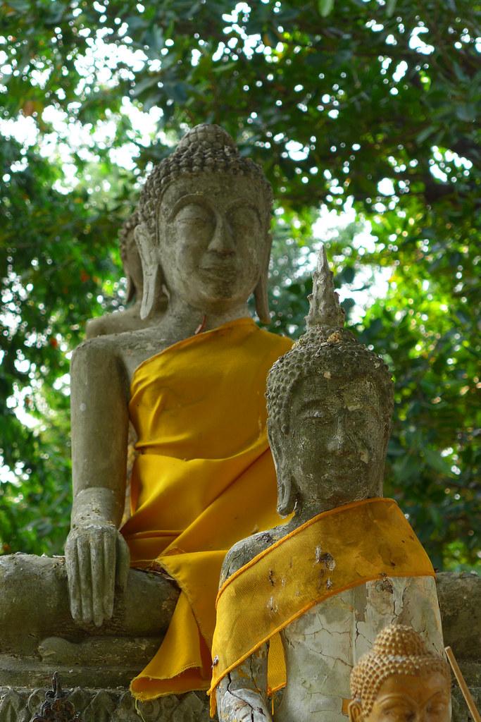 Thaïlande - Ayutthaya - 207 - Wat Yai Chai Mongkhon