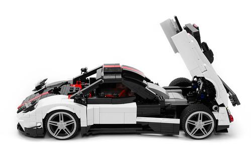 Pagani Zonda Cinque A LEGO Creation By Lego Builders