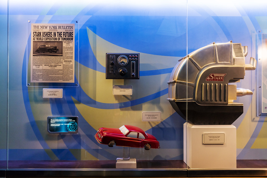 Hong Kong Disneyland_Hall of Legacy_Mobility Display