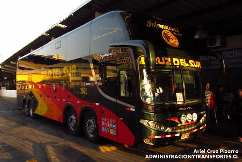 Cruz del Sur - Santiago - Comil Campione HD / Scania (BOY950)