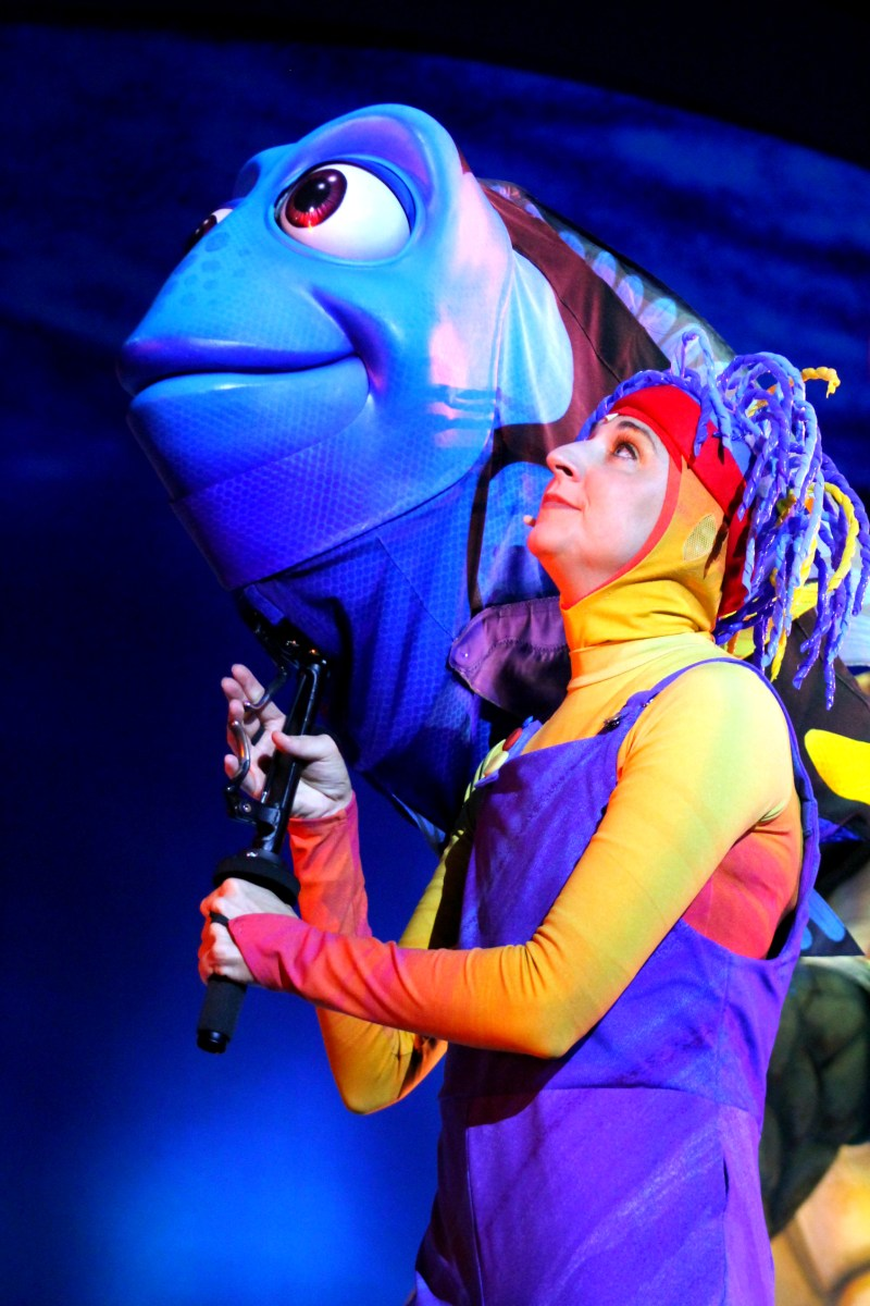 Finding Nemo the Musical Animal Kingdom Oct 2016 29